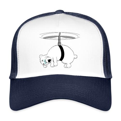 Hubschrauber lustig - Trucker Cap