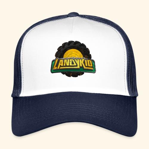 LandyKid Logo XLLL trans - Trucker Cap