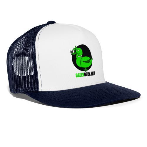 Greenduck Film Logo w. black letters - Trucker Cap
