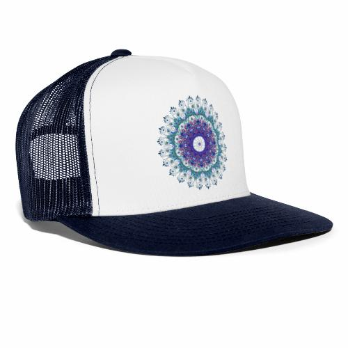 Mørk lilla mandala - Trucker Cap