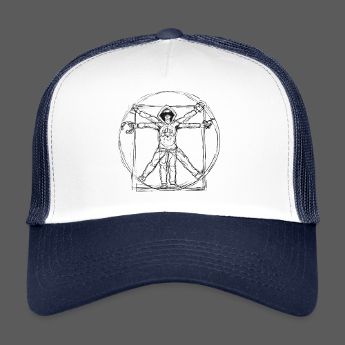 The Vitruvian Gamer - Trucker Cap