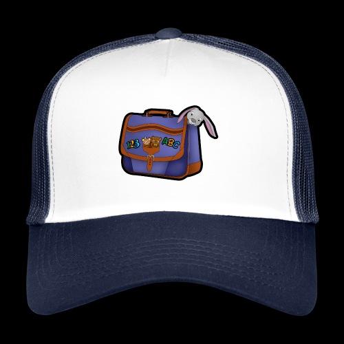 Rentrée des classes cartable bleu - Trucker Cap