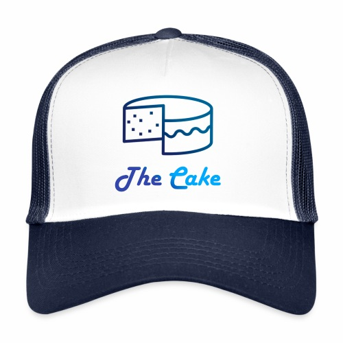 Logo écrit The Cake Bleu dégradé - Trucker Cap