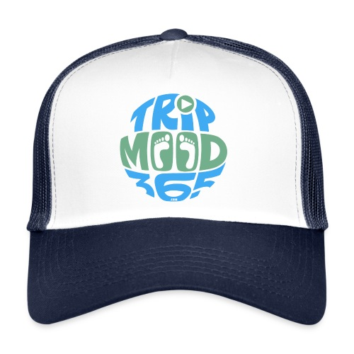 TRIPMOOD365 Traveler Clothes and Products- Colors - Trucker Cap