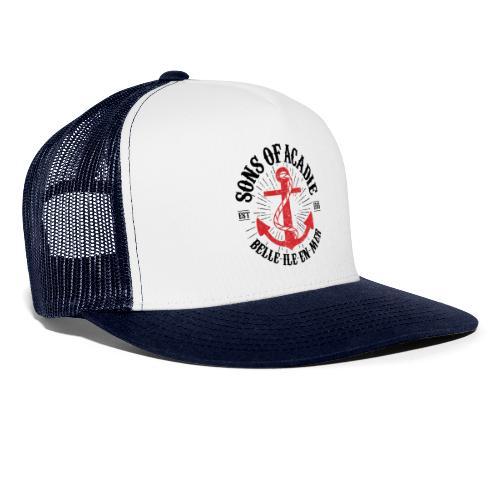Sons Of Acadie Ancre de Marine - Trucker Cap