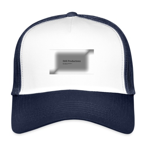 DAX Productions kledinglijn - Trucker Cap