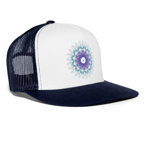 Lilla mandala pastel - Trucker Cap