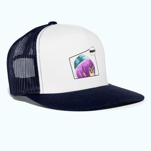 WHAT? Comic Design - Trucker Cap