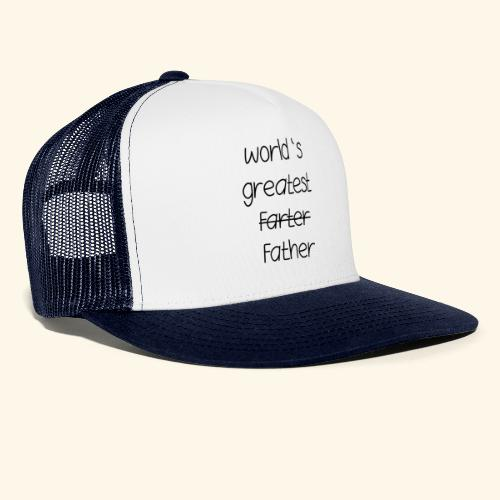 World's greatest Father - Trucker Cap