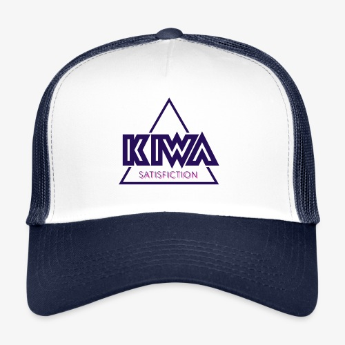 KIWA Satisfiction Blue - Trucker Cap