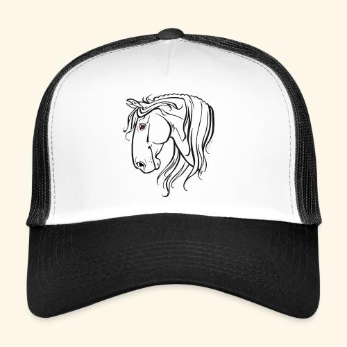 Cheval espagnol (noir) - Trucker Cap