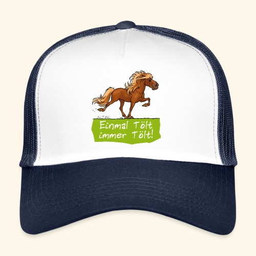 Island Pferd Tölt - Trucker Cap