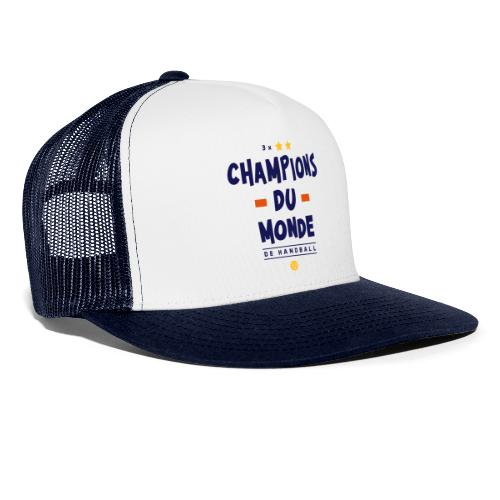 Champions du Monde de Handball - Trucker Cap