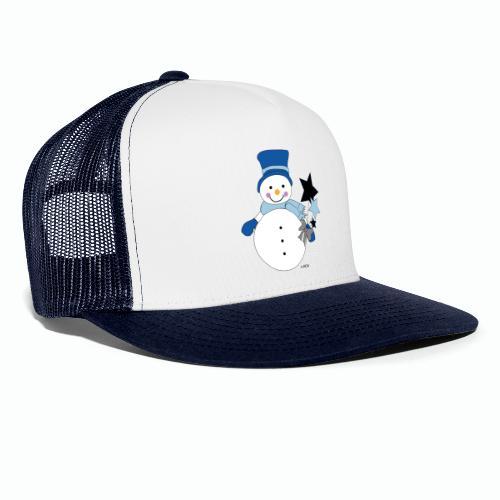 Snowtime-Blue - Trucker Cap