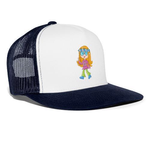 Hippie Girl - Trucker Cap