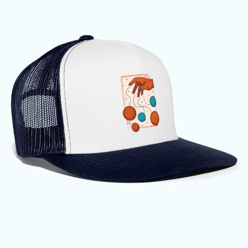 Planets On A String - Trucker Cap