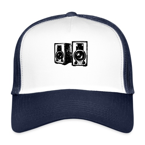 DJ Symbol Musik Musiker Party Disco - Trucker Cap