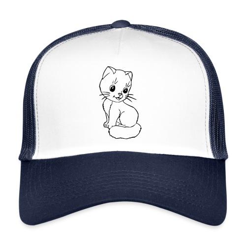 Katzen Symbol Katze süß Kützchen Haustier - Trucker Cap
