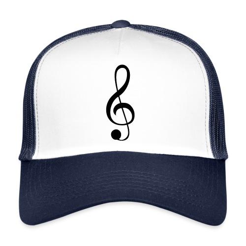 Musik Symbol Musikschlüssel Notenschlüssel - Trucker Cap