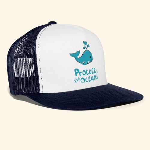 Protèges les océans - Trucker Cap
