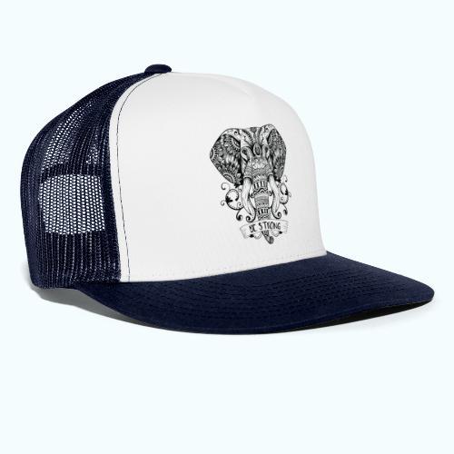 Be Strong Elephant - Trucker Cap