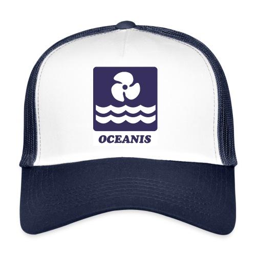 Logo Serie Mar-Oceanis - Gorra de camionero