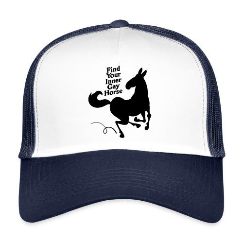 Find your inner gay horse - Trucker Cap