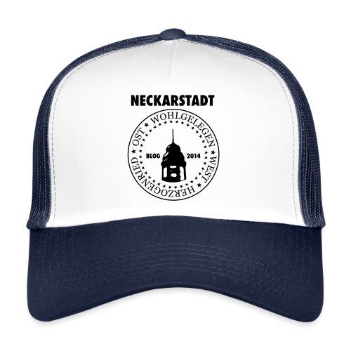 Neckarstadt Blog seit 2014 (Logo dunkel) - Trucker Cap