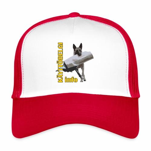 Käyttöbelgi.infon logotuotteet - Trucker Cap