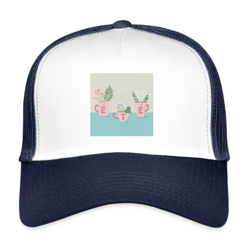 fleurs d'été - Trucker Cap