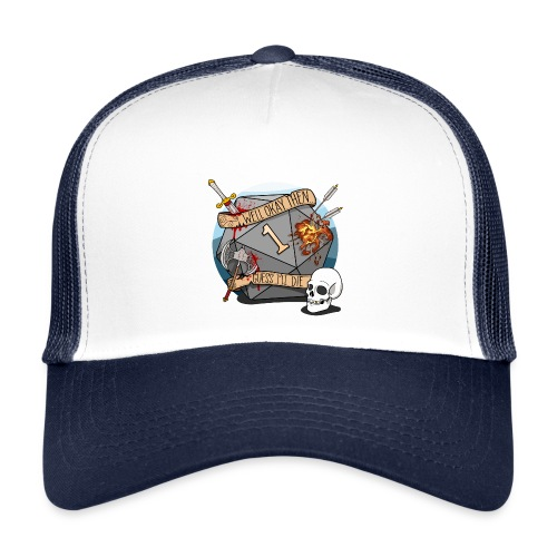 Arvelen kuolen - DND D & D Dungeons and Dragons - Trucker Cap