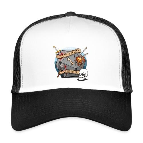 Arvelen kuolen - DND D & D Dungeons and Dragons - Trucker Cap