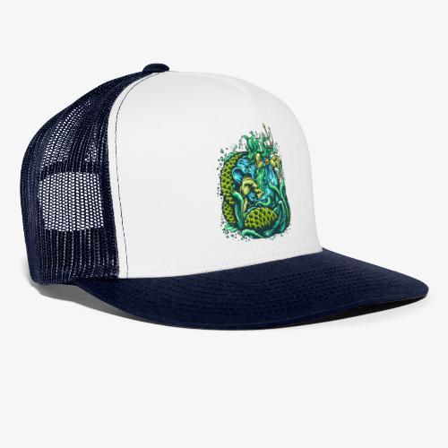 Gott des Meeres - Trucker Cap