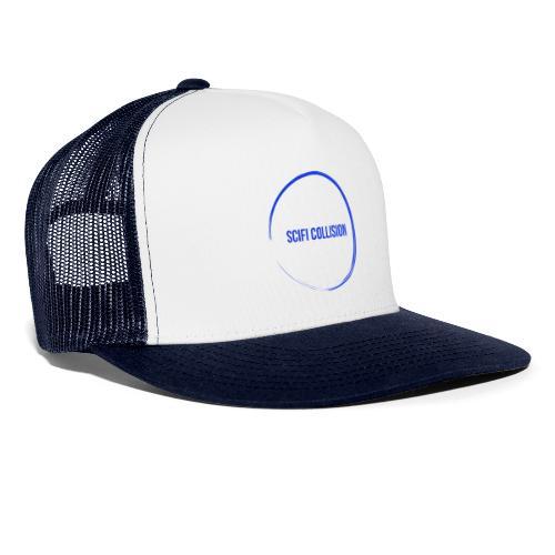 Dark Blue Logo - Trucker Cap