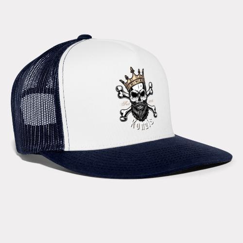 Skull Bones Logo - Trucker Cap
