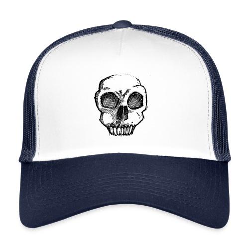 Skull sketch - Trucker Cap