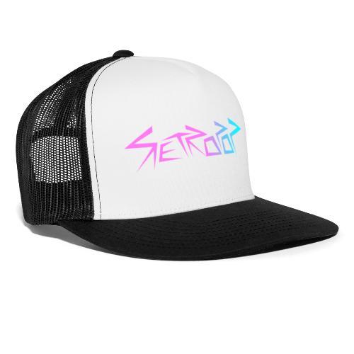 Retropop - Logo värillinen - Trucker Cap