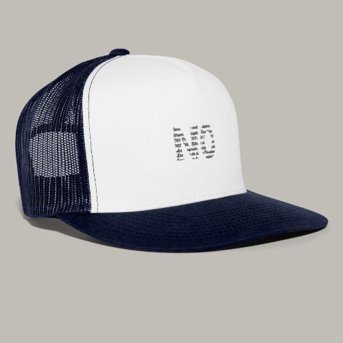 NO - Trucker Cap