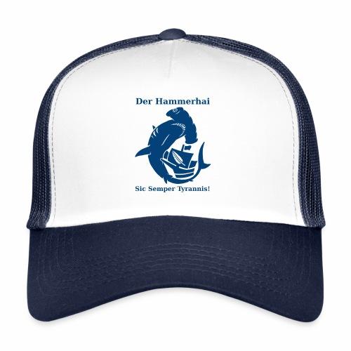 hammerhai blau - Trucker Cap
