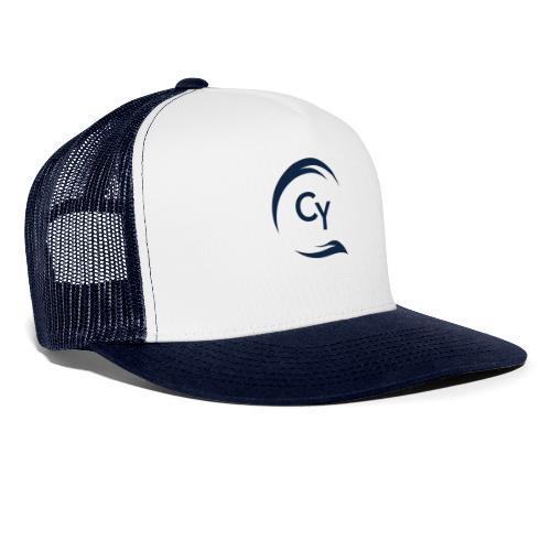 CHARTERBAR LOGO - blue - Trucker Cap
