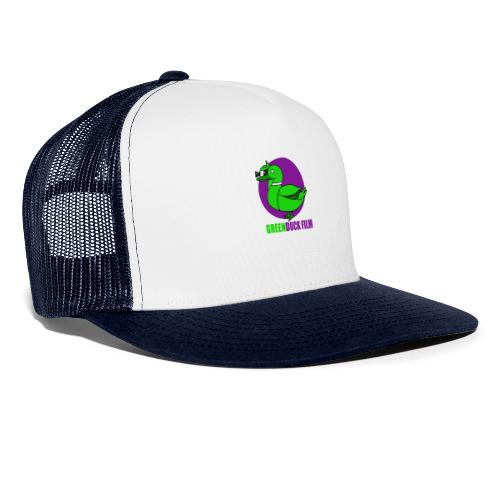 Greenduck Film Purple Sun Logo - Trucker Cap
