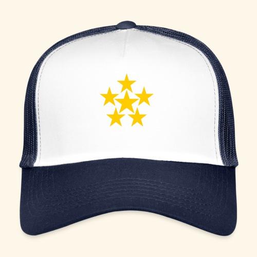 5 STERN gelb - Trucker Cap