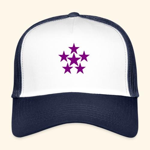 5 STAR lilla - Trucker Cap
