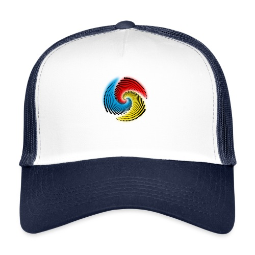 Farbspirale - Trucker Cap