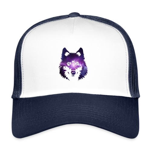 Galaxy wolf - Trucker Cap