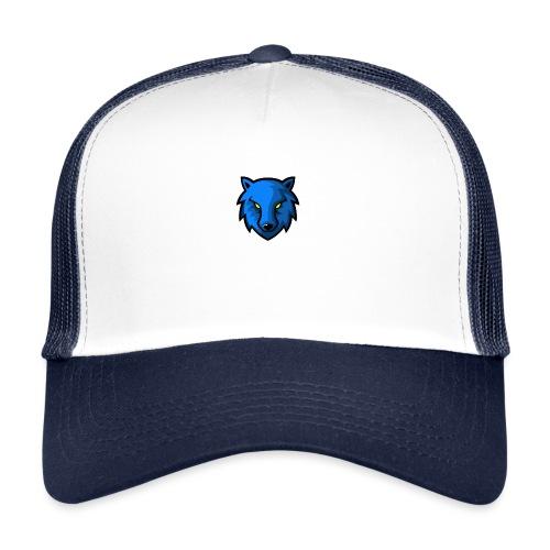 LoneWolf Blue - Gorra de camionero