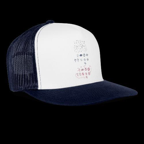 Overscoped concept logos - Trucker Cap