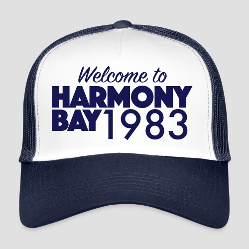Welcome to Harmony Bay 1983 - Trucker Cap