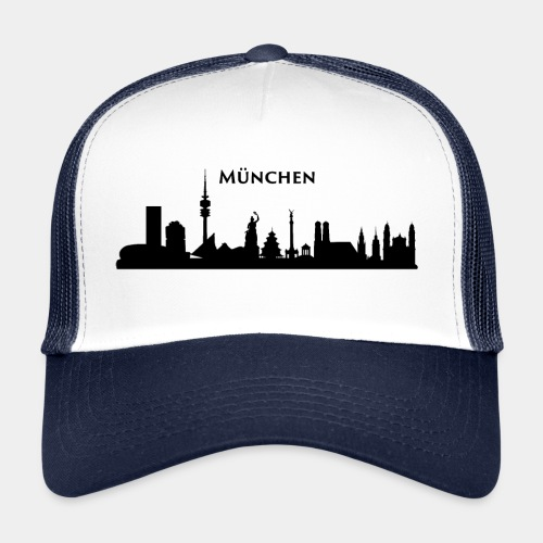 München Skyline - Trucker Cap