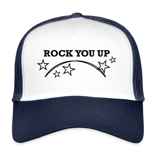 Rock You Up vit - Trucker Cap